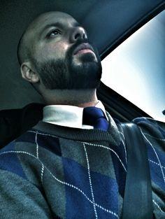 Retrô Beard & Bald Style, Full Beard
