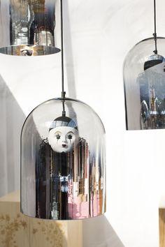 Ceiling Panels, Ceiling Lamp, Ceiling Lights, Interior Lighting, Decor Interior Design, Art Prints Uk, Vintage Lamps, Mason Jar Lamp, Glass Domes