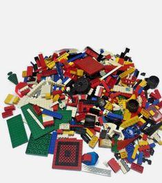 Set of 4 Round Brick  2 X 2  Dome Top BLACK Lego Legos