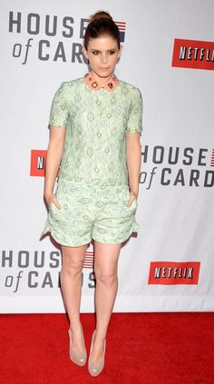 Kate Mara arriving at Netflix's 'House Of Cards' For Your Consideration Q Event and panel discussion at the Leonard H. Goldenson Theatre in North Hollywood, California -April 25, 2013 - Photo: Runway Manhattan/CelebrityPhoto
