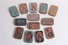 Etching Tins with Salt Water and Electricity - Compliment to The Steampunk Bible Article