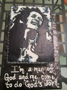 Amazing Bob Marley Cake by Desiree Myers!  Order from her at cakesbydes.com