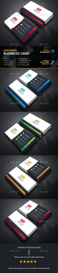 Business Card — Photoshop PSD #green #blue • Available here → https://graphicriver.net/item/business-card/14948251?ref=pxcr