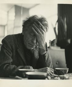 Alberto Giacometti Photo Black & White