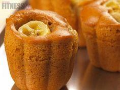 Healthy twist on banana bread: Pump'd-Up Banana Cakes!