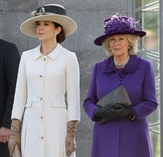 Princess Mary - The Prince Of Wales And Duchess Of Cornwall Visit Denmark - Day Three