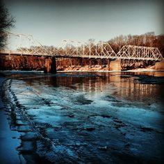 Dingmans Bridge #delawareriver #poconos #nepa #springfever #bridge #instanature #kittatinnycanoes
