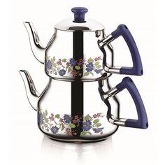 Özkent 314 Marmaris Desenli Mini Çaydanlık