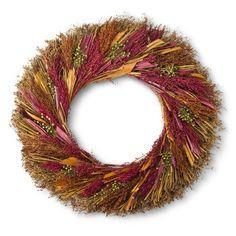 """Smith & Hawken ® Harvest Wreath 30"""""""