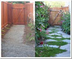 Cottage Garden - pathway