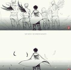 Levi's team Attack on Titan ~Kay