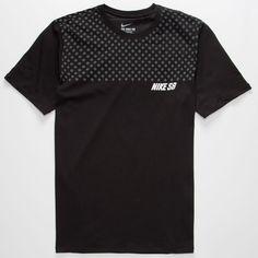 Nike SB Dri-FIT Polka Dot Mens T-Shirt (3715 RSD) ❤ liked on Polyvore featuring…