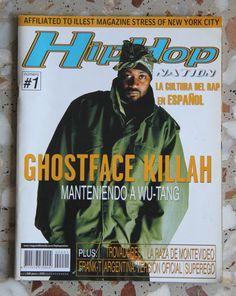 Hip Hop Nation España #1 Ghostface killah Frank T Graffiti Rap Spain Wu Tang