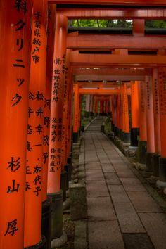 Fushimi Inari-Taisha by cyrillhaenni on 500px