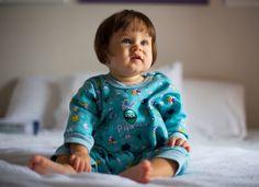 Vick cria pijama inteligente que monitora temperatura do bebê