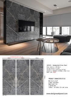 Marble Printed WPC is the abbreviations of Wood Plastic Composite. WPC board is a mixture of reclaimed wood, recycle plastic and a small amount of adhesive. Now it becomes an ideal building material for residential and commercial use.