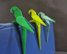 Learn Origami: Another website with multiple patterns, including letters and numbers.