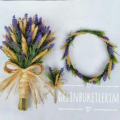 Yine harika bir set Lavanta gelin çiçeği seti www.gelinbuketleri.com İletişim için 05453768273den ulaşabilirsiniz