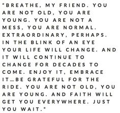 breathe, my friend. by shopportunity