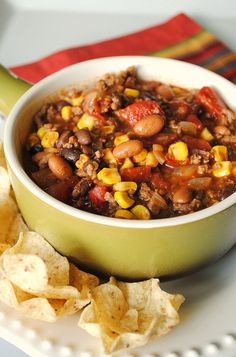 Taco Soup. Simple and good.
