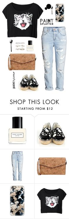 """""""5.20.1"""" by belial29 ❤ liked on Polyvore featuring Marc Jacobs, Chanel, 7 Chi, Casetify, Boohoo and paintsplatter"""