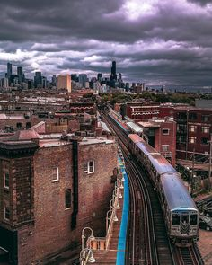 On an average weekday, people ride the CTA trains. Chicago City, Chicago Skyline, Chicago Illinois, Monuments, Travel Around The World, Around The Worlds, Chicago Transit Authority, Trains, S Bahn