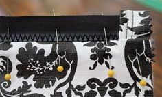 DIY Craft: Zippered Cosmetic Bags   Inside NanaBread's Head