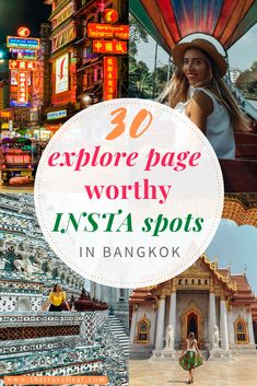 30 awesome Instagrammable places in Bangkok 2020 photography guide | The Travel Leaf