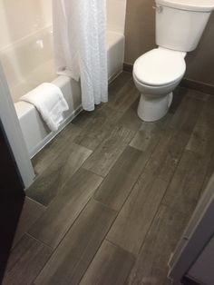 Daltile Emblem Gray 7x20 Daltile Grey Wood Floors