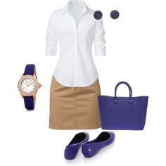 """""""Purple Business Casual"""" by ashli2012 on Polyvore"""