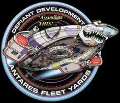 Star Trek Defiant development logo