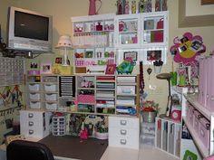 Spinning our Webb....One Day at a Time: Scrapbook Room