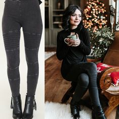 We are so on board with the Moto legging trend! 😍 Such a cute way to spice up your legging game ❤❤