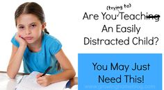 how to teach a distracted child
