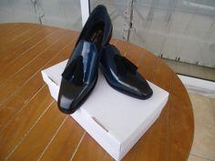 handmade patina tassel loafers by konstantinos