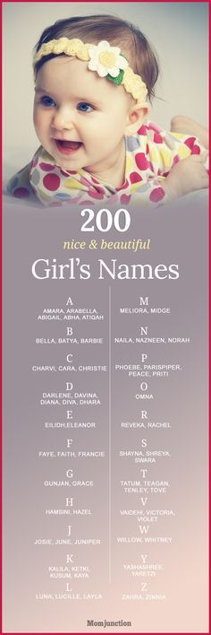 Here is our exhaustive list of 200 unique and beautiful girl names with meanings for you to pick. Consider one of these lovely names for your daughter!