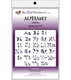 Alphabet letters. For sampler?