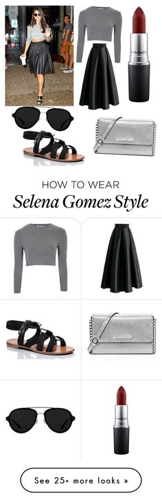 """""""Untitled #66"""" by dr-azzko on Polyvore featuring Glamorous, Kate Spade, 3.1 Phillip Lim, MAC Cosmetics and MICHAEL Michael Kors"""