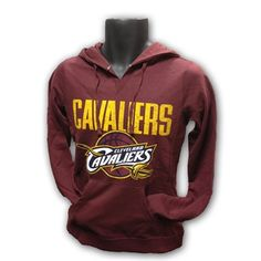 Ladies Cavaliers Distressed Script Hooded Sweatshirt NEW <$35.00>