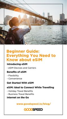 When you travel, an eSIM can cut down the hassle of dealing with different sets of providers in different countries, not to mention saving precious holiday time from tracking down a roaming card and setting up a plan. What is #eSIM and how do you use it? Our complete guide walks you through the world of eSIM so you and stay connected no matter where you go! 🌍 / Learn more from Goodspeed's latest blog.