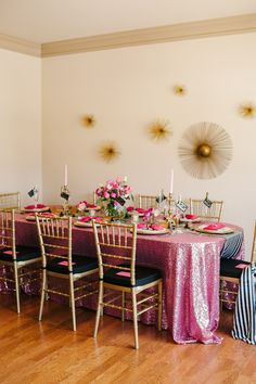 A Chic and Swanky Kate Spade Inspired Dinner Party. Perfect for a Valentine's day ladies night! #valentinesday http://www.theperfectpalette.com/2014/01/a-chic-and-swanky-kate-spade-inspired.html