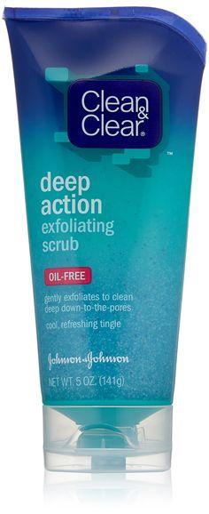 Clean & Clear Deep Action Exfoliating Scrub, 5 oz.