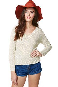 MinkPink Sweet Daisy Sweater