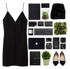 """i fight my own battles baby"" by acquiescence ❤ liked on Polyvore featuring T By Alexander Wang, Manolo Blahnik, Topshop, Alöe, Cleanse by Lauren Napier, Tom Ford, Mills Floral Company, Byredo, Koh Gen Do and philosophy"
