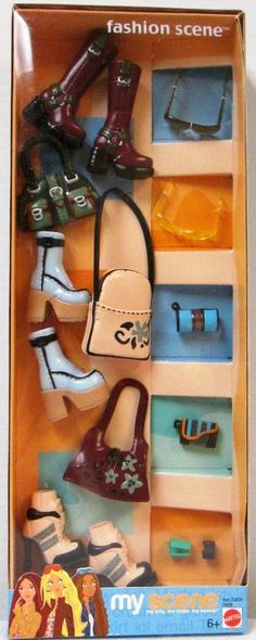 My Scene Fashion Scene - Item C0839 - Mattel