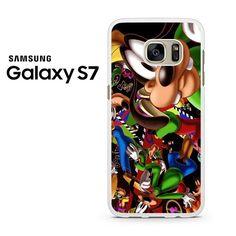 Goofy Disney Collage Samsung Galaxy S7 Case