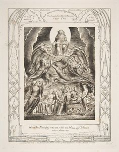 Satan Before the Throne of God, from Illustrations of the Book of Job