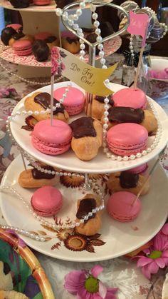 Baby Shower Afternoon Tea, Tea Party Desserts, Shower Ideas, Cake, Food, Kuchen, Essen, Meals, Torte