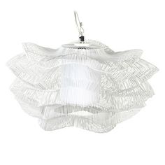 Iron Hanging Lamp I White, 158€, now featured on Fab.