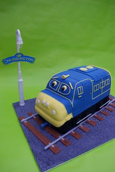 Chuggington Cake by ~Verusca